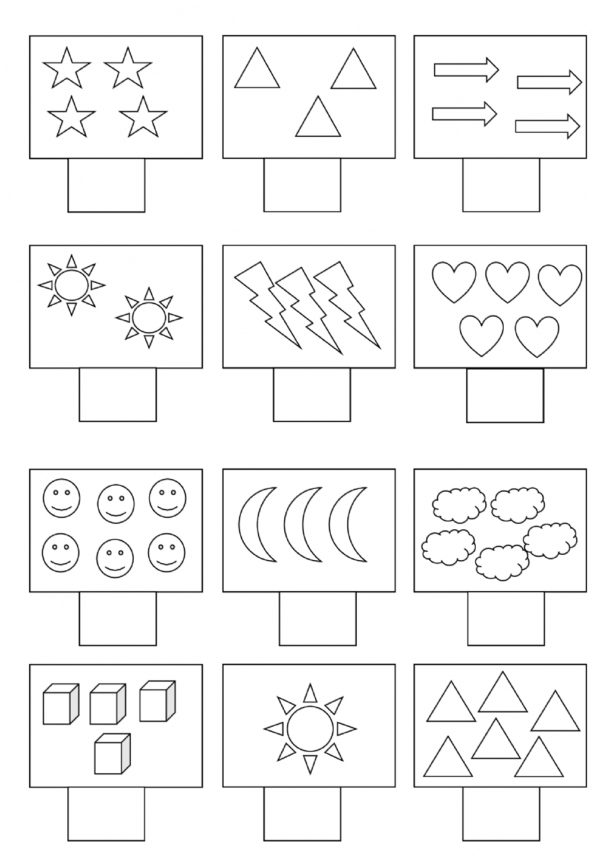 3 Math Worksheets For Lkg Saya Rakam Ala Ma Sayfasa