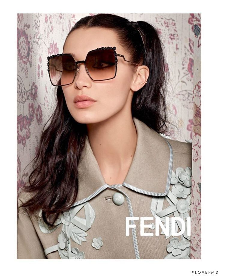 2d1a981366e6 Fendi - Spring Summer 2017 Ready-to-Wear - Model Bella Hadid - Fashion  Advertisement