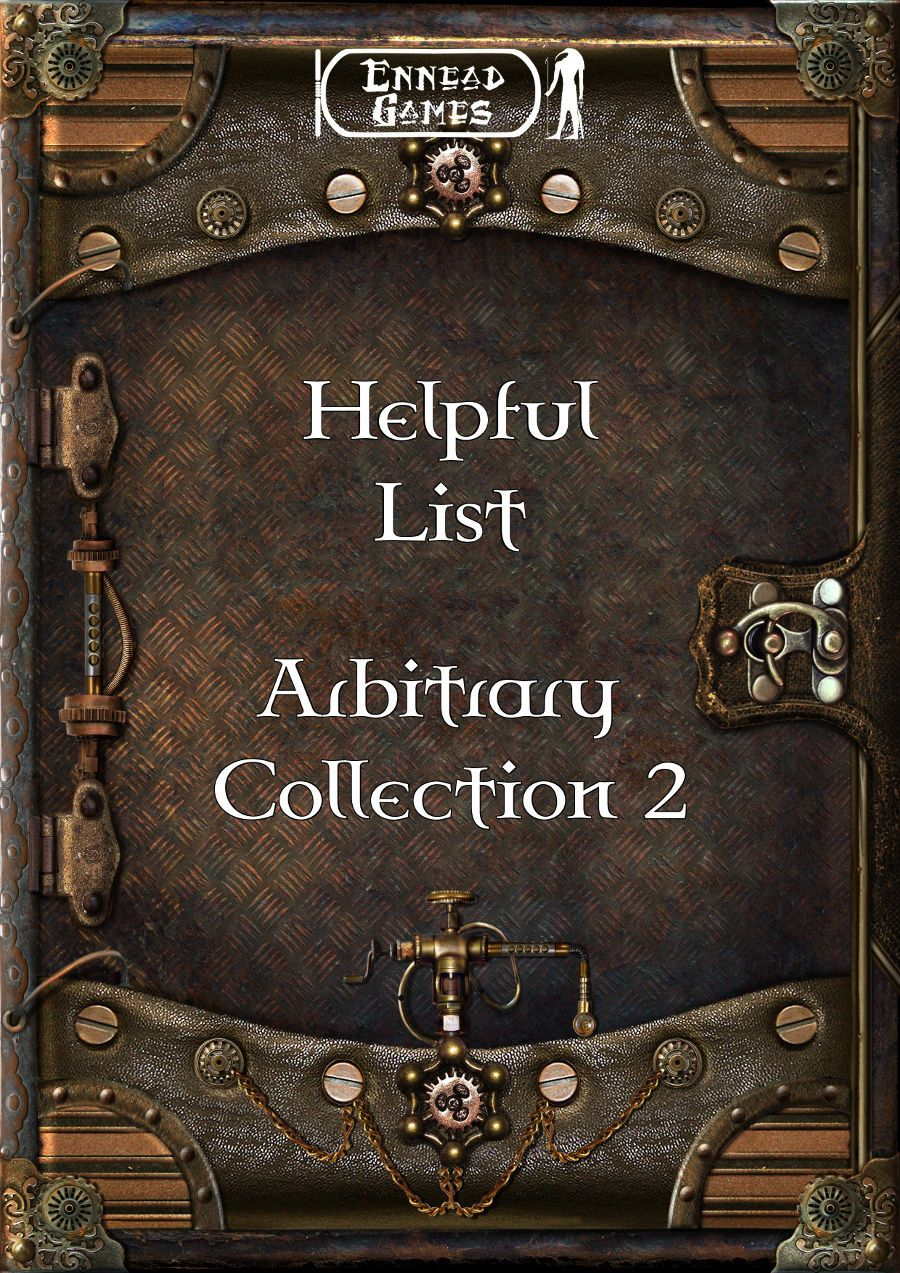 Helpful List Arbitrary Collection 2 Gaming blog