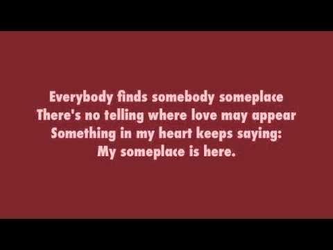 Everybody Loves Somebody By Dean Martin Lyrics Youtube Dean