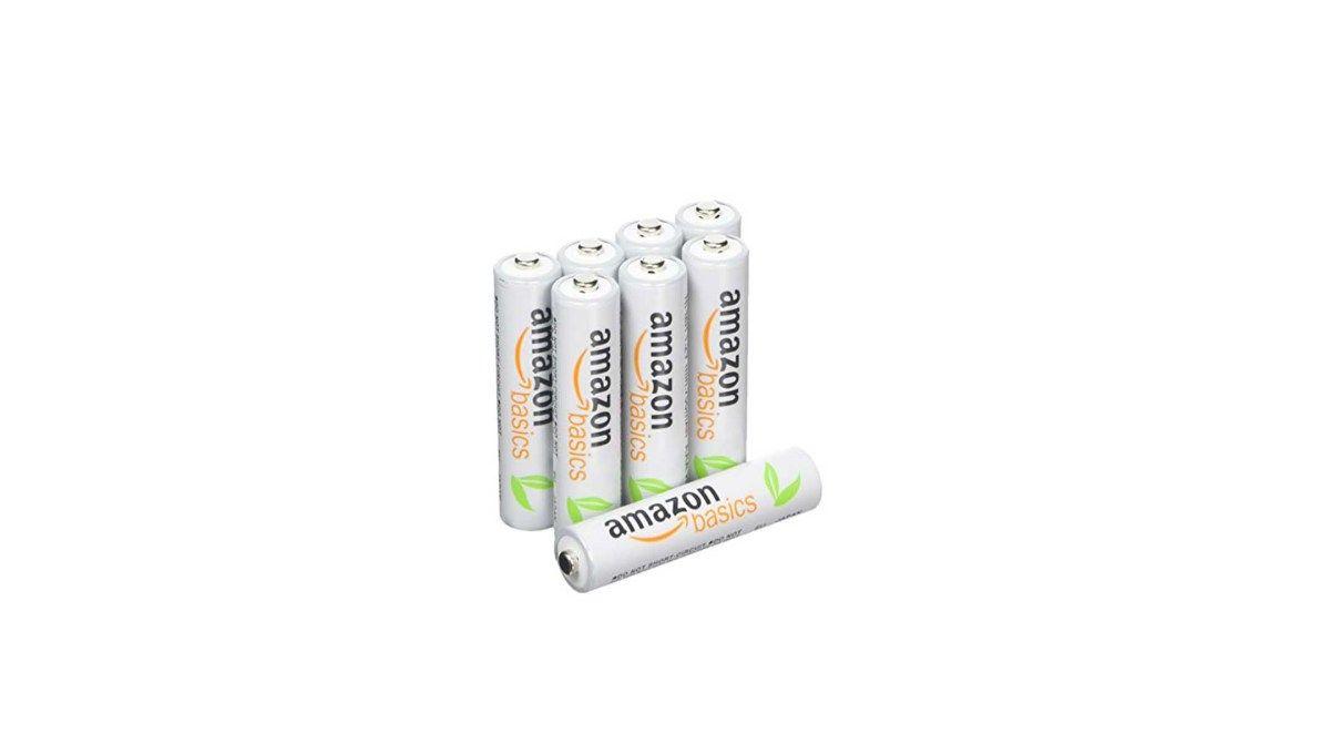 8 Pack Amazonbasics Aaa Rechargeable Batteries Pre Charged For 9 99 At Amazon Rechargeable Batteries Amazon Recharge