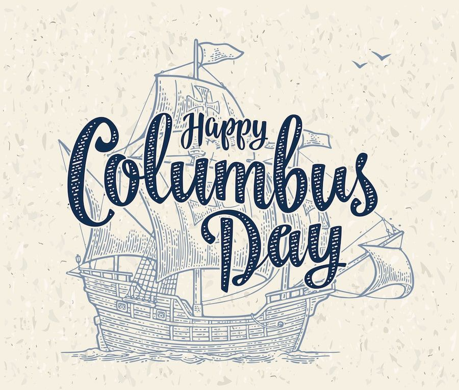 Happy Columbus Day Usa History Images Quotes In 2020 Happy Columbus Day Image Quotes History Images