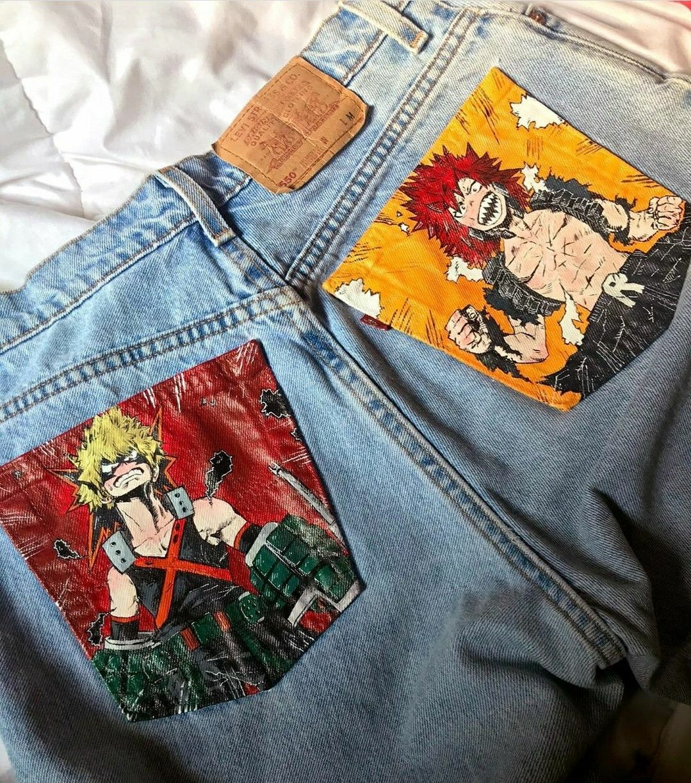 Bakugou and kirishima jeans love these so much
