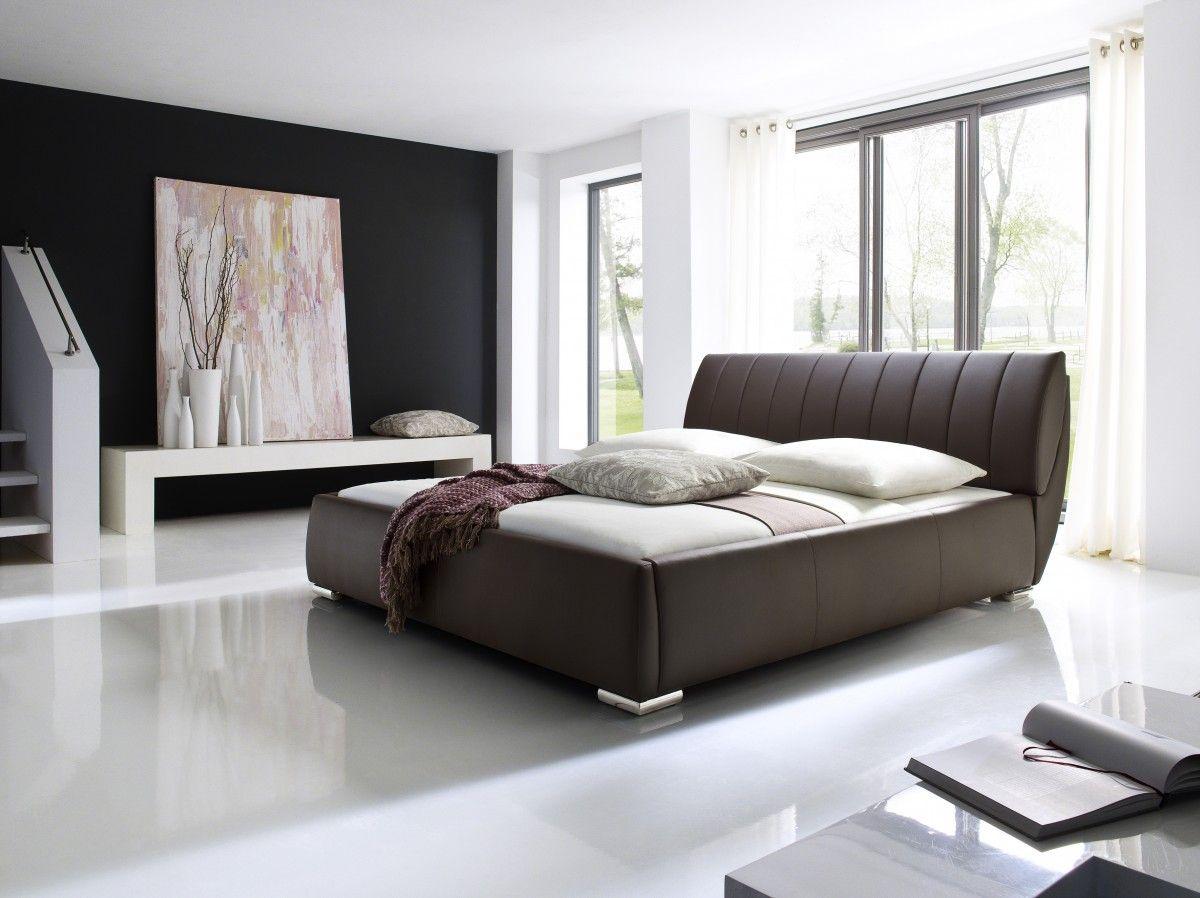 Polsterbett Austin Optional Wahlbar Mit Oder Ohne Kaltschaummatratze Braun In 2019 Polsterbetten Bedroom Furniture Leather Bed Und Water Bed