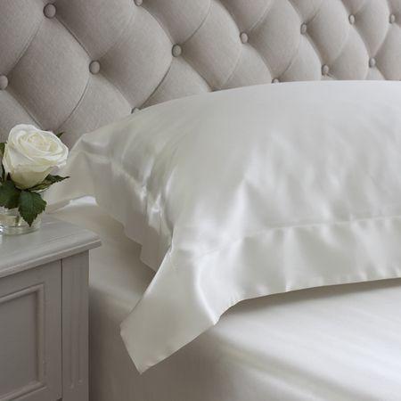 Ivory Oxford Pillowcases