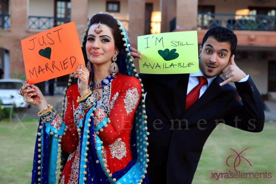 Pakistani Bride wedding photography lol funny