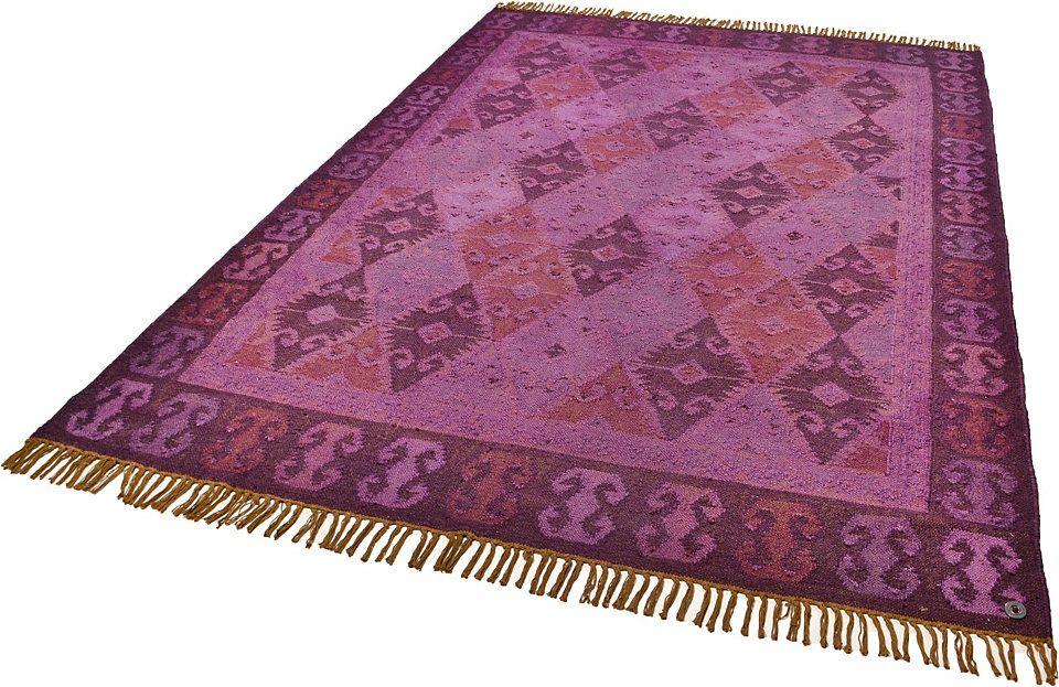 Teppich Tom Tailor Kelim Colors Ii Handgearbeitet Wolle