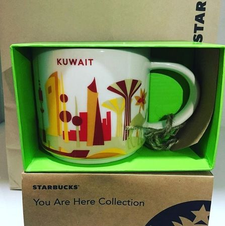 kuwait you are here series starbucks city mugs starbucks you are here mugs want. Black Bedroom Furniture Sets. Home Design Ideas