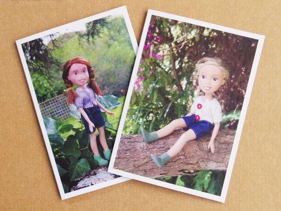 Set of 6 blank Tree Change Dolls™ greeting by TreeChangeDolls