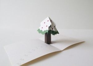 Christmas popup card