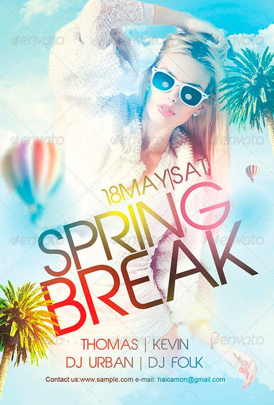 Spring Flyer Template Spring Sale Easter Flyer Design Template