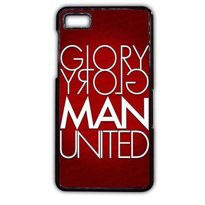Get Latest Manchester United Wallpapers White Glory Man United TATUM-4731 Blackberry Phonecase Cover For Blackberry Q10, Blackberry Z10