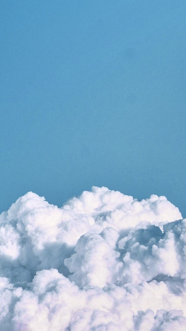 Sky Cloud Blue Daytime Cumulus White In 2020 Iphone Wallpaper Sky Aesthetic Iphone Wallpaper Cloud Wallpaper