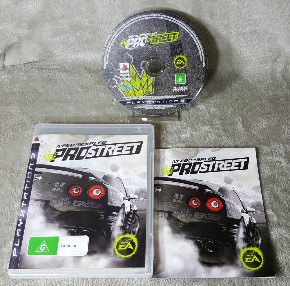 Need For Speed Prostreet PlayStation 3