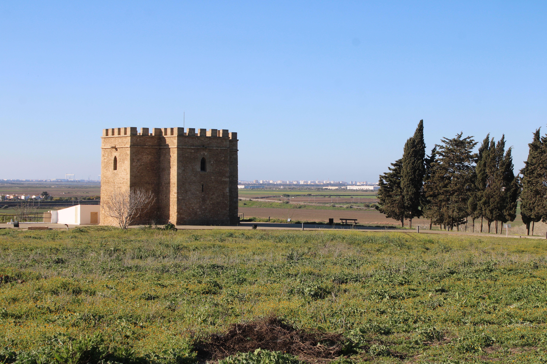 torre de doña blanca en El Puerto de Santa María