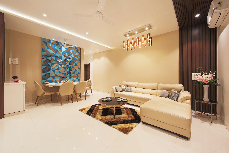 Contemporary Living Room Designed By Bignosedesigns In Mumbai