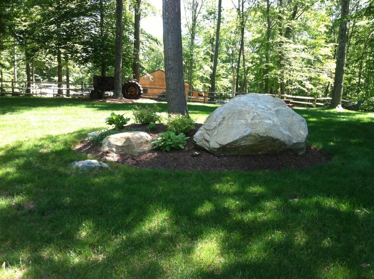 Using Large Rocks In Landscaping Pics Google Search