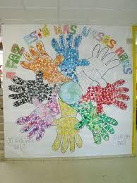 """Mural: """"La paz esta en nuestras manos""""."""
