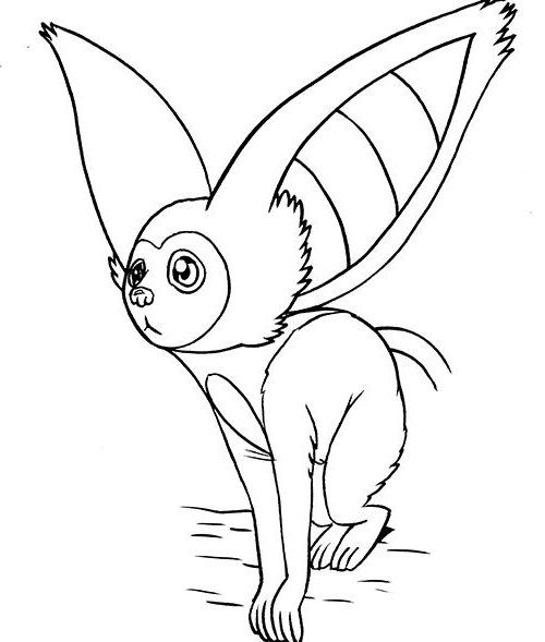 Momo Pet Avatar Saw Something Coloring Page |Avatar coloring pages ...