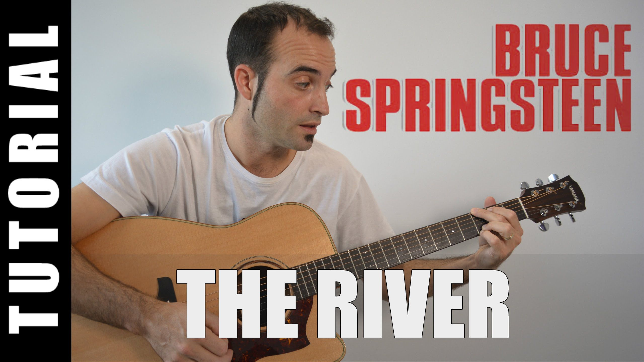 Com tocar The River / Bruce Springsteen Guitarra FÀCIL pas