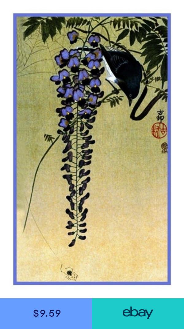 Ohara Shoson Koson Lotus Flowers Counted Cross Stitch Chart Pattern