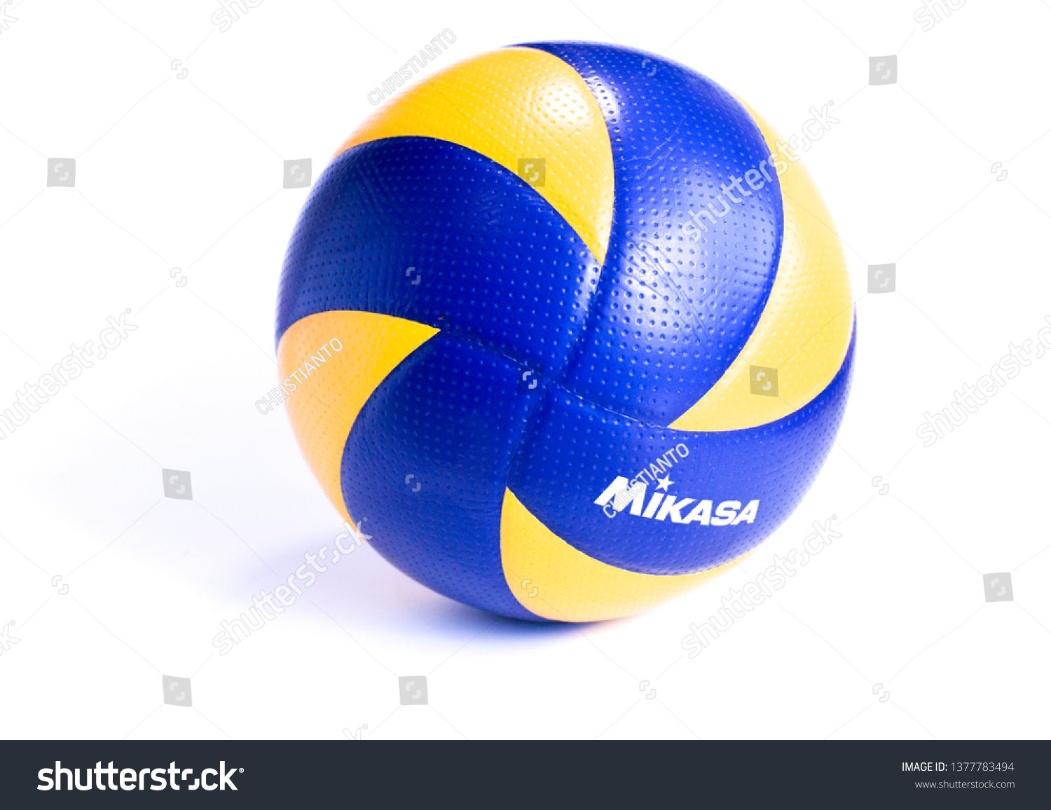 Kudat Malaysia 23 April 2019 Mikasa Indoor Volleyball Ball Isolated On White Background Mikasa Is World Top Brand I Kudat Indoor Volleyball Photo Editing