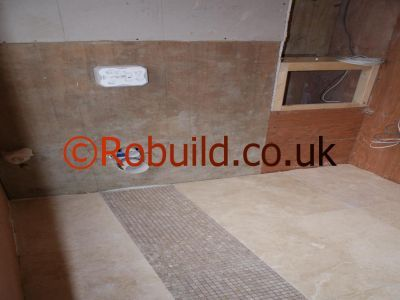 Ceramic tile installed directly to plywood
