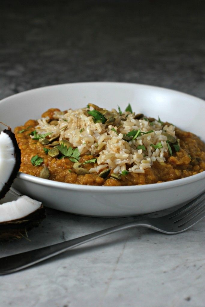 crockpot spiced lentils ~freezer meal~ - BeginWithin Nutrition