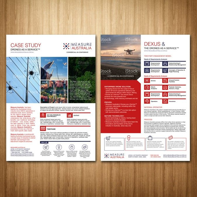 Create Case Study Template For The WorldS Leading Drone Services