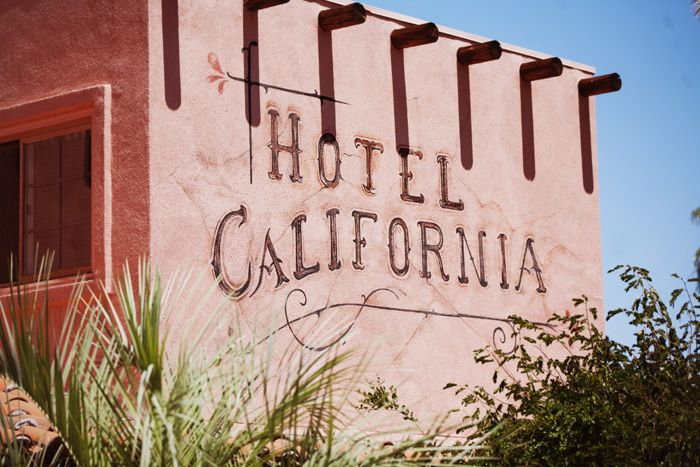 Hotel Cali Hotel California California California Dreaming
