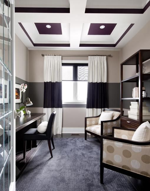 two paint colors for wall decoration