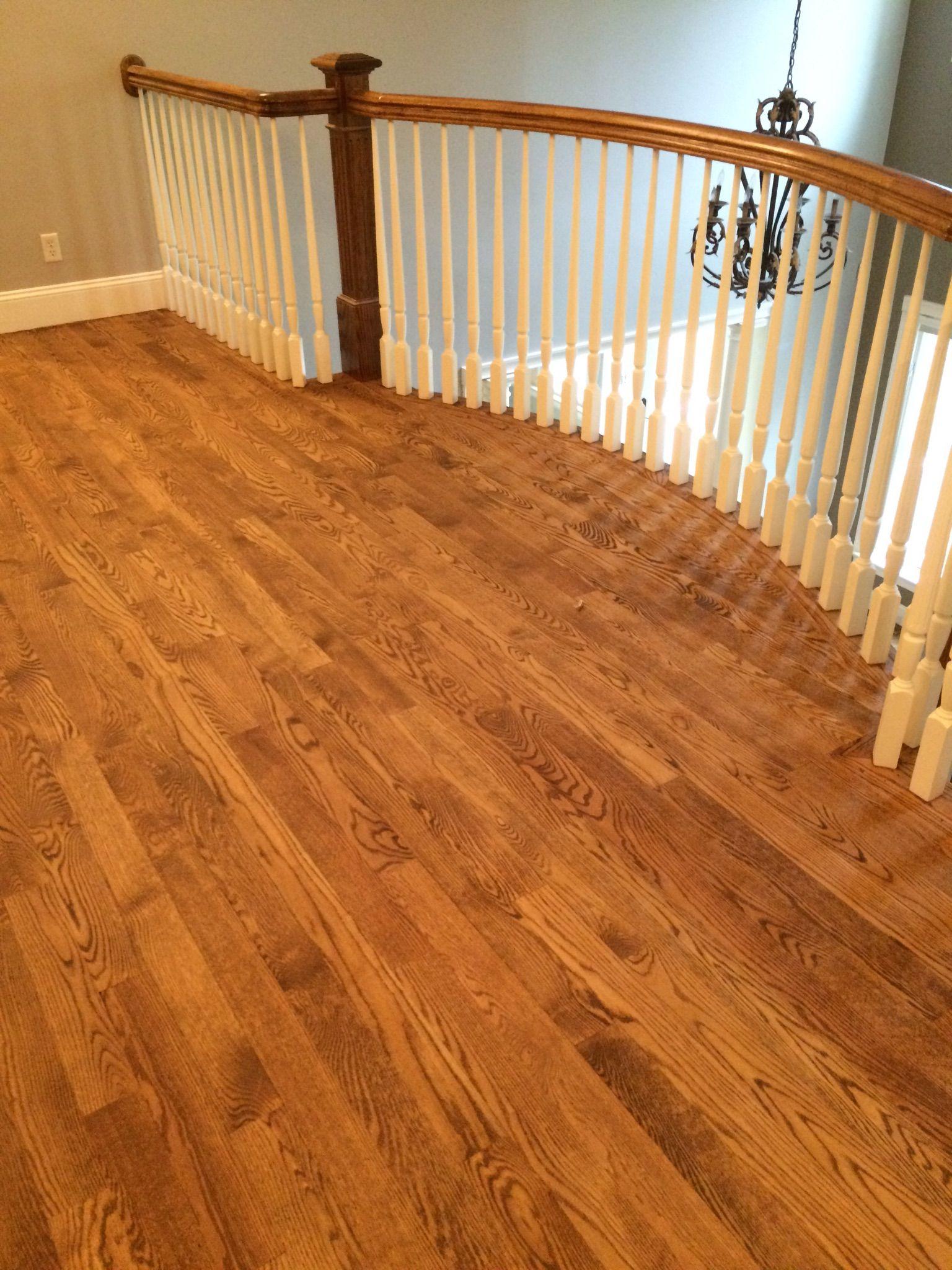 Resanded Some Beautiful Red Oak Hardwood Floors