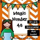 Magic Number 48 is a mathematics activity which practices all four of the operation i.e. Addition, subtraction, multiplication, division as well as...