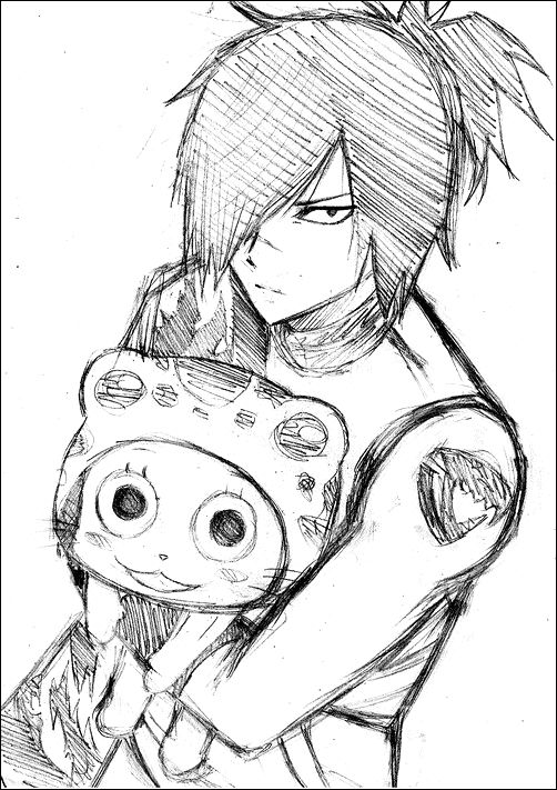 Fairy Tail - Rogue and Frosch | Manga & Anime | Fairy tail rogue