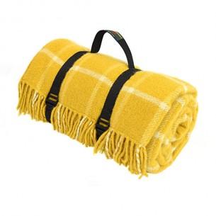 Picknick Decke Gelb Deckchen Gelb Design Shop