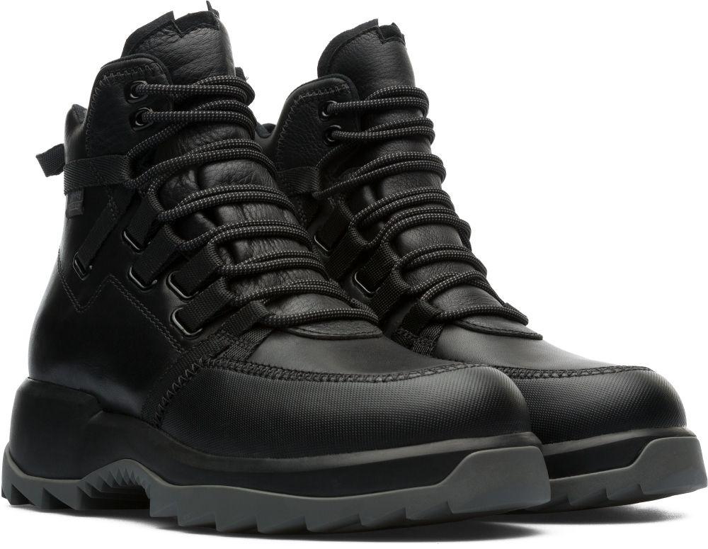 Martens Unisex Ladies Quinton Black Hiking Nubuck Boots Size UK 3 Dr