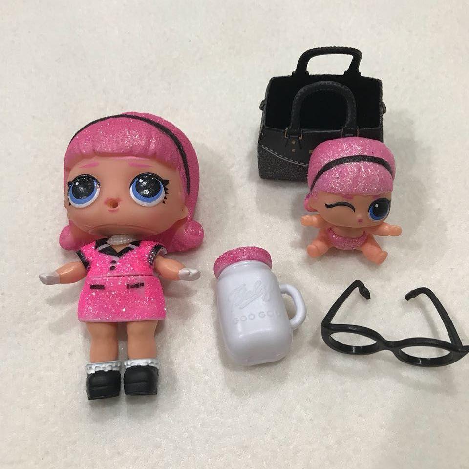 2PCS LOL Surprise Doll LiL Sister LIL ROYAL HIGH-NEY Series 4 Eye Spy Baby Doll