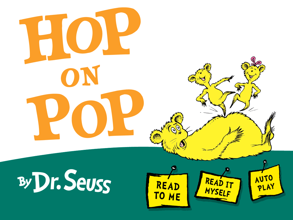 Hop On Pop By Drseuss Available For Ios And Android