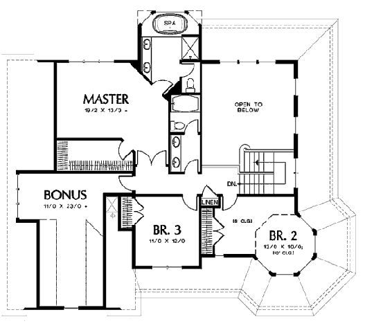 planos de casas victorianas