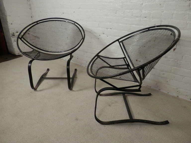 Bouncing Salterini Patio Chairs