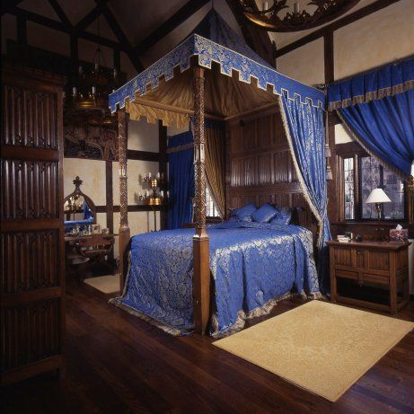 Stuart interiors i know the first place i 39 m going when i for Medieval bedroom designs