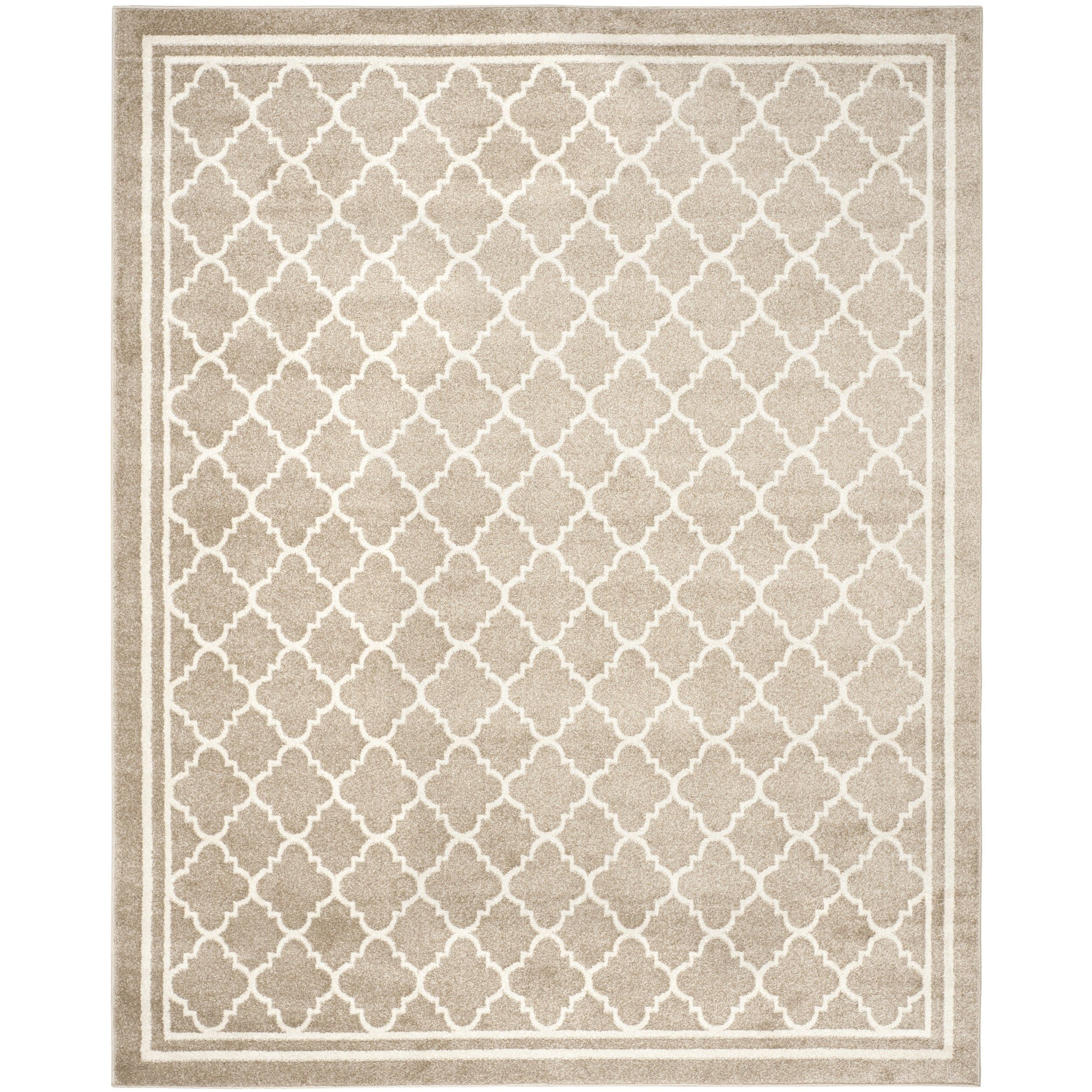 Safavieh Amherst Collection Amt422s Wheat And Beige Indoor Outdoor Area Rug 10 X
