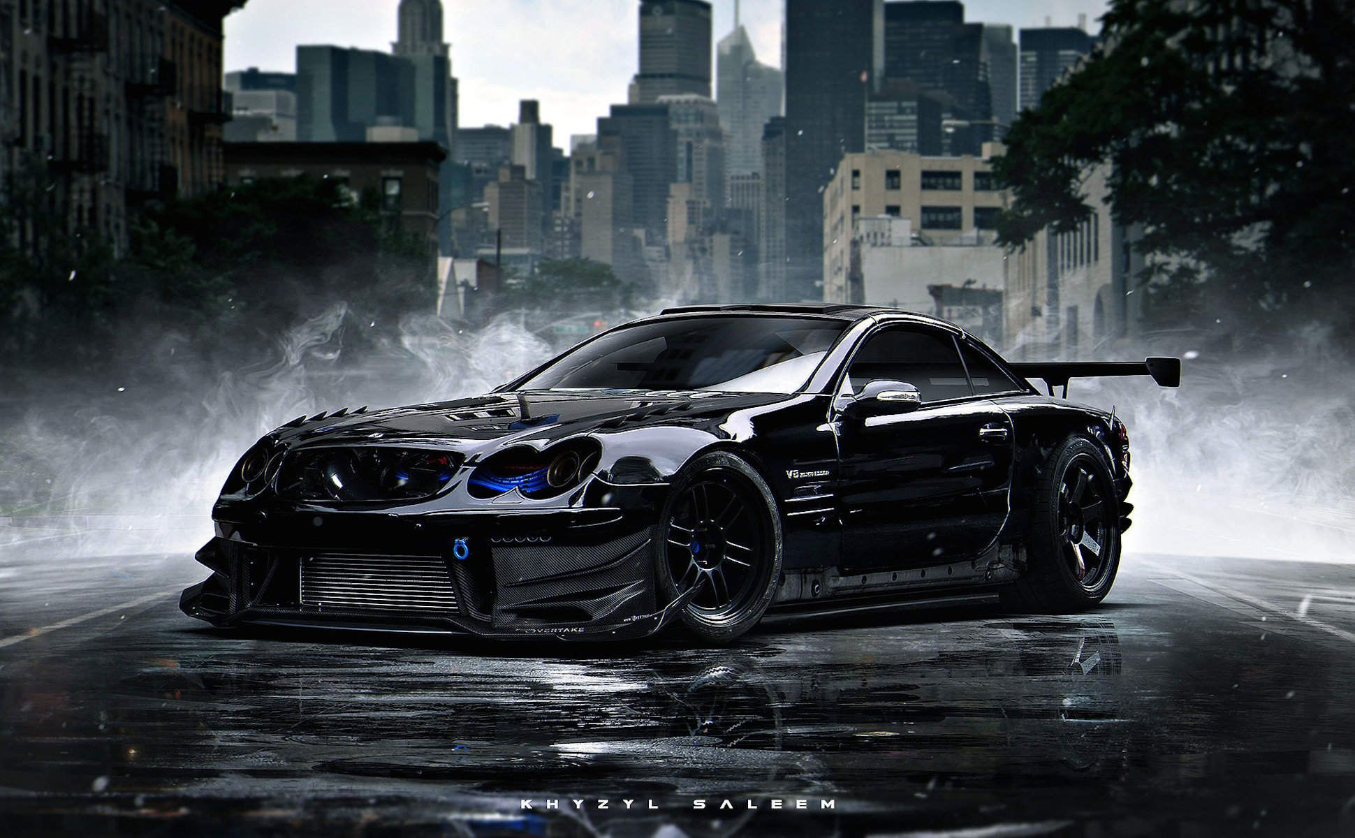 This is painting the most insane sci fi vehicles on the planet khyzyl saleem is designing your futuristic dream car
