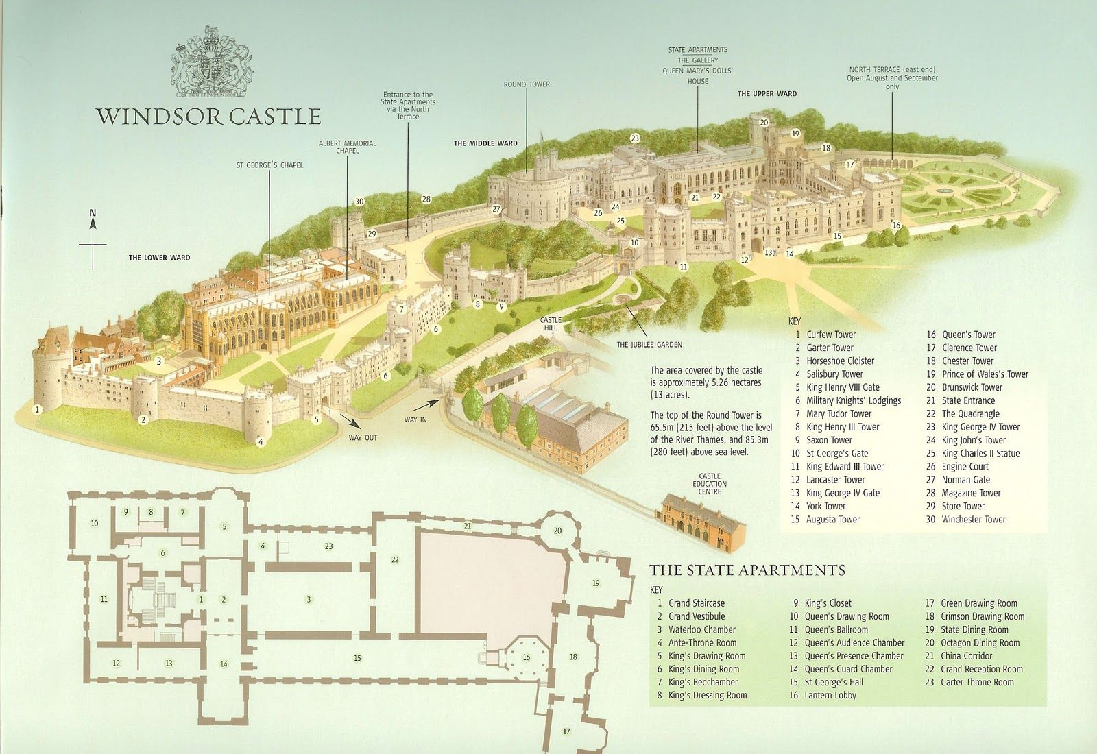 Everything And Nothing Off To London To See The Queen Part 4 Windsor Castle Map Castle Plans Castle Layout
