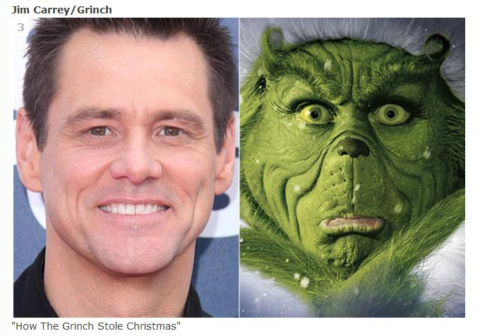 "Jim Carrey as The Grinch in ""How the Grinch Stole Christmas"""