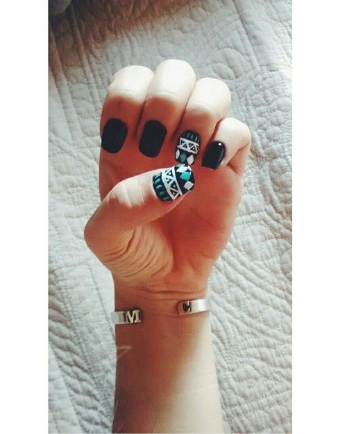 #Colours, #Cool, #Girl #nails - D I A M O N D