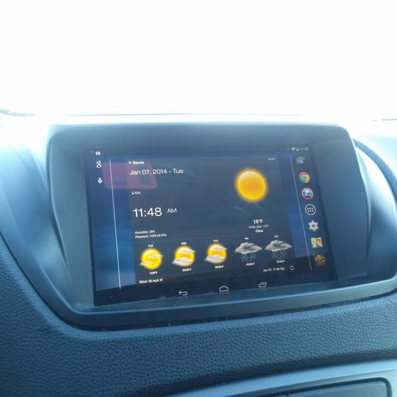 Google/ Asus Nexus 7 tablet installed in the car | My Ride(s