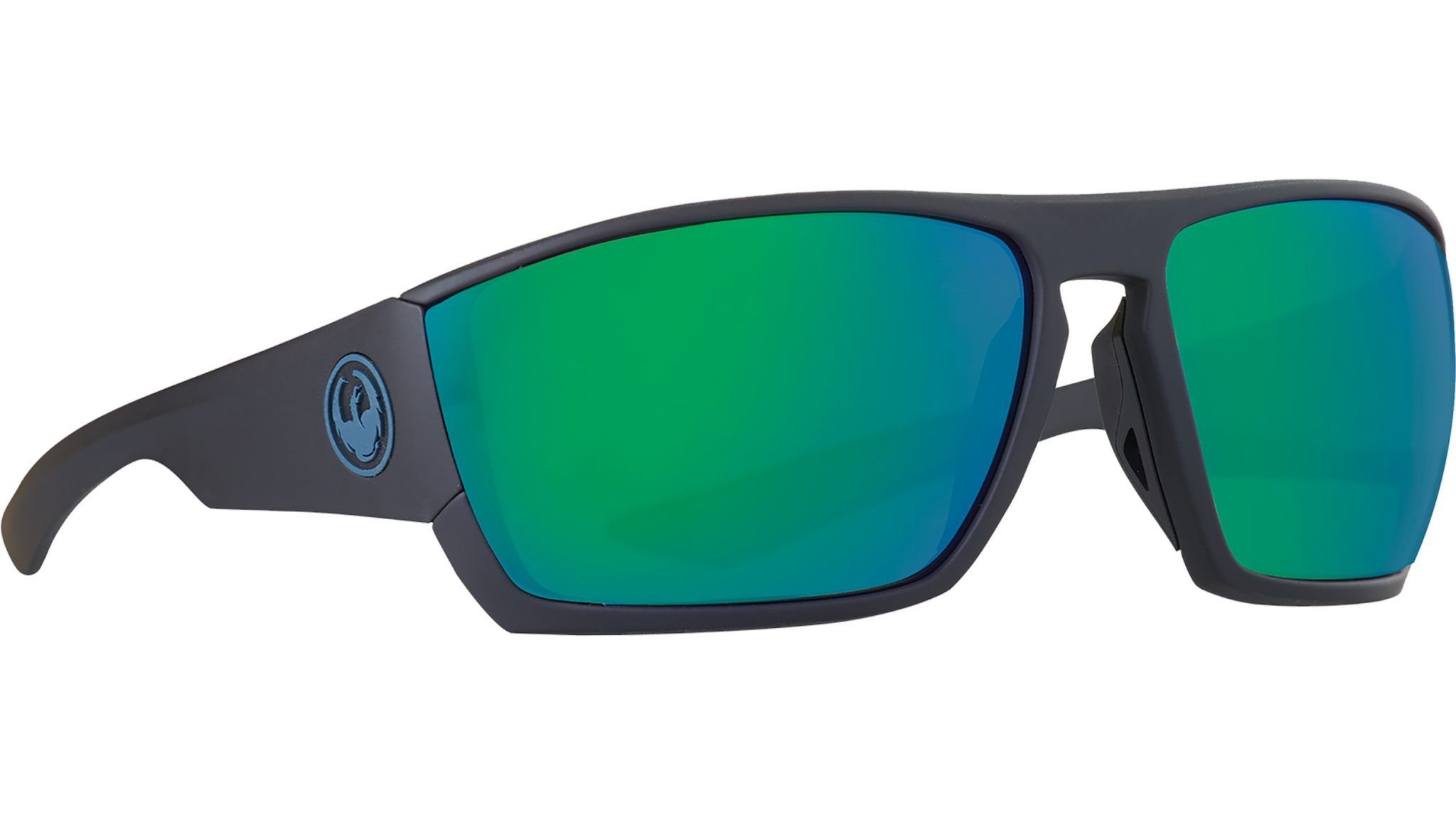 Cutback matte black h2o with green ion polarized