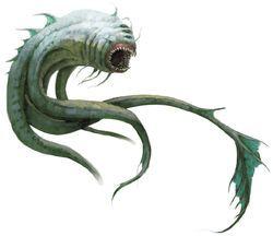 Aboleth Fantasy Monster Creature Concept Art Creature Art