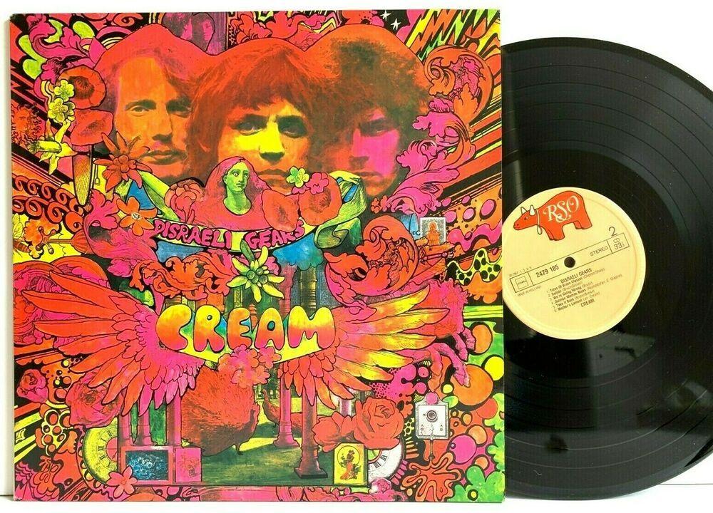 Cream Disraeli Gears Rso 2479 185 Holland Pressing Lp Vinyl Record Album Vinyl Records Vinylrecords Albu Record Album Vinyl Records Vinyl Record Album